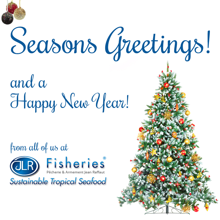 Seasons Greetings and Happy New Year! - JLR Fisheries